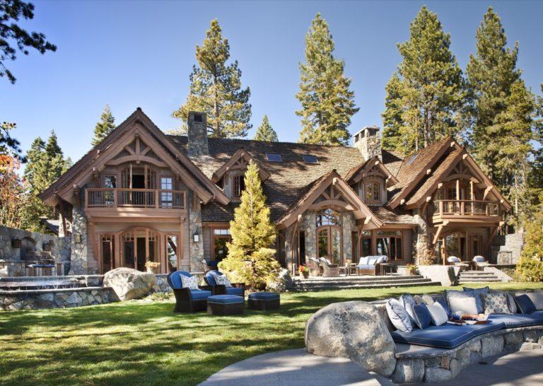Lakeside of House
